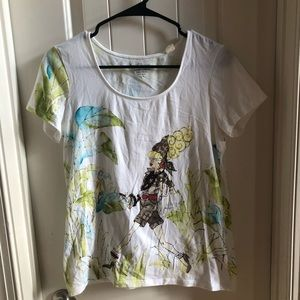 Chico's Short Sleeve tee sz Small or 0